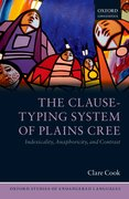 Cover for The Clause-Typing System of Plains Cree