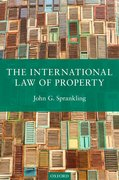 Cover for The International Law of Property