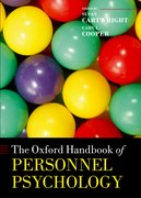 Cover for The Oxford Handbook of Personnel Psychology