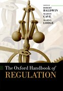 Cover for The Oxford Handbook of Regulation