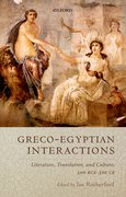 Cover for Greco-Egyptian Interactions - 9780199656127