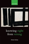 Cover for Knowing Right From Wrong