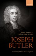 Cover for Joseph Butler: Fifteen Sermons and other writings on ethics