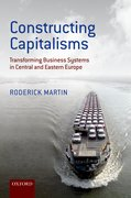 Cover for Constructing Capitalisms