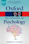 Cover for A Dictionary of Psychology
