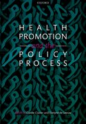 Cover for Health Promotion and the Policy Process