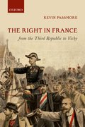 Cover for The Right in France from the Third Republic to Vichy