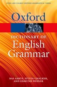 Cover for The Oxford Dictionary of English Grammar