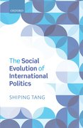 Cover for The Social Evolution of International Politics