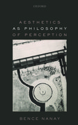 Cover for Aesthetics as Philosophy of Perception