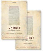 Cover for Varro: <i>De lingua Latina</i>