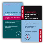 Cover for Oxford Handbook of Paediatrics and Emergencies in Paediatrics and Neonatology Pack