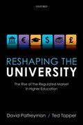 Cover for Reshaping the University