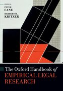 Cover for The Oxford Handbook of Empirical Legal Research