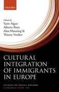 Cover for Cultural Integration of Immigrants in Europe