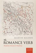 Cover for The Romance Verb