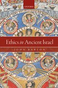 Cover for Ethics in Ancient Israel