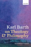 Cover for Karl Barth on Theology and Philosophy