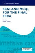 Cover for SBAs and MCQs for the Final FRCA