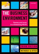 Cover for The Business Environment