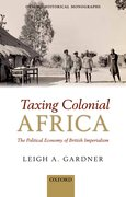Cover for Taxing Colonial Africa