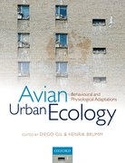 Cover for Avian Urban Ecology