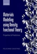 Cover for Materials Modelling using Density Functional Theory