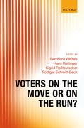 Cover for Voters on the Move or on the Run?
