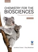 Cover for Chemistry for the Biosciences