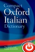Cover for Compact Oxford Italian Dictionary