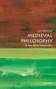 Cover for Medieval Philosophy: A Very Short Introduction
