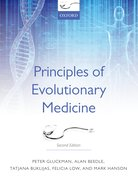 Cover for Principles of Evolutionary Medicine - 9780199663934