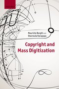 Cover for Copyright and Mass Digitization