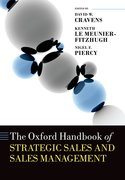 Cover for The Oxford Handbook of Strategic Sales and Sales Management