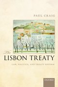 Cover for The Lisbon Treaty