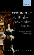 Cover for Women and the Bible in Early Modern England