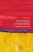 Cover for Classical Literature: A Very Short Introduction