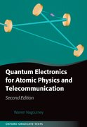 Cover for Quantum Electronics for Atomic Physics and Telecommunication