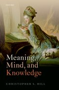 Cover for Meaning, Mind, and Knowledge