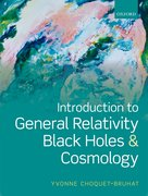 Cover for Introduction to General Relativity, Black Holes, and Cosmology