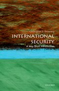 Cover for International Security: A Very Short Introduction