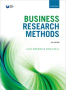 Cover for Business Research Methods