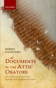Cover for The Documents in the Attic Orators