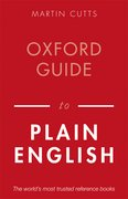 Cover for Oxford Guide to Plain English