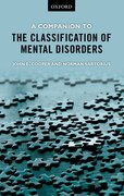 Cover for A Companion to the Classification of Mental Disorders
