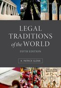 Cover for Legal Traditions of the World