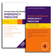 Cover for Oxford Handbook of Emergency Medicine and Oxford Assess and Progress: Emergency Medicine Pack