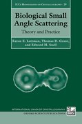Cover for Biological Small Angle Scattering - 9780199670871