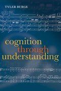 Cover for Cognition Through Understanding