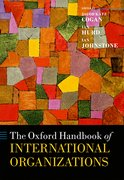 Cover for The Oxford Handbook of International Organizations
